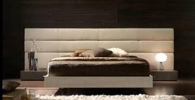 Cabecero acolchado extralargo dise o horizontal mi - Cabeceros acolchados cama ...
