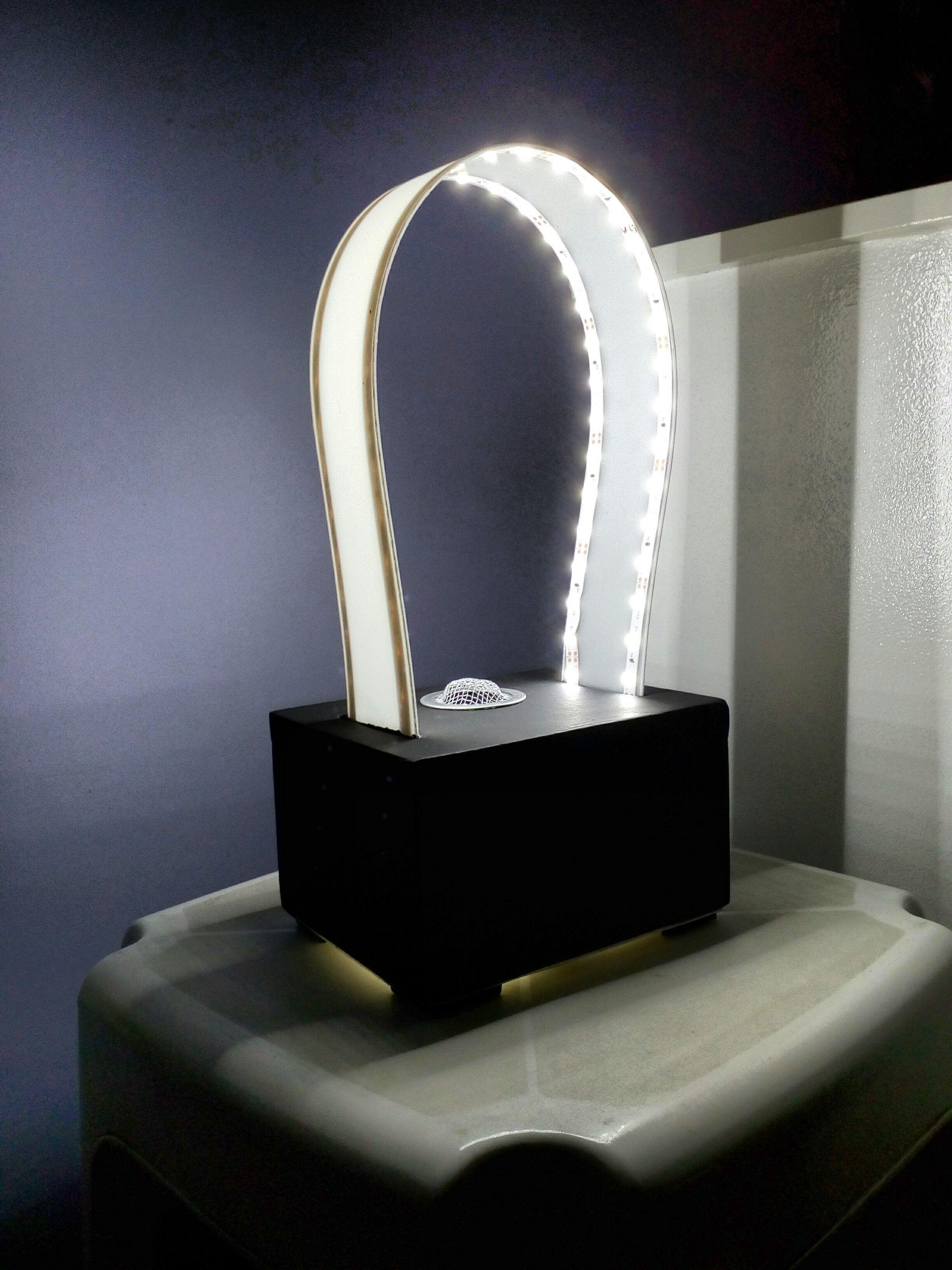Elegant Home Made Led Lamp