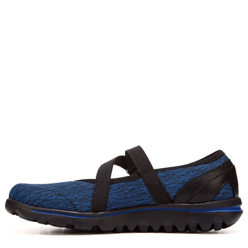 dc0506145f4a Propet Women s Travelactiv Narrow Medium Wide Mary Jane Shoes (Black Navy)  - 6.5 4E