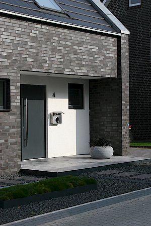 EFH Emsdetten Referenzen Wohnhäuser Klinkerwerk