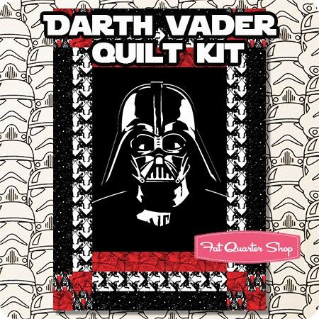 Darth Vader Quilt Kit Br Featuring Star Wars By Springs Creative