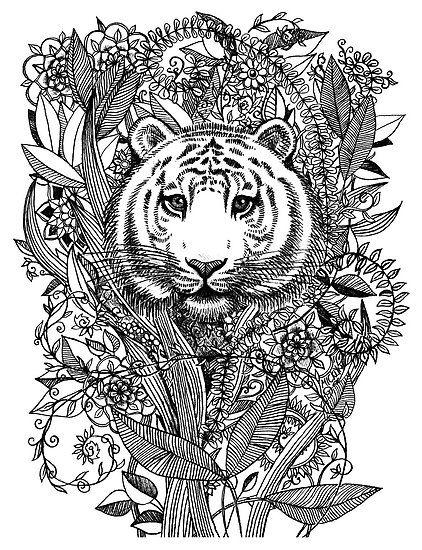 Zentangles Animals Buscar Con Google Tangle Art Art Black And White Stickers