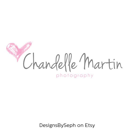 Pre Made Logo Design And Photography Watermark