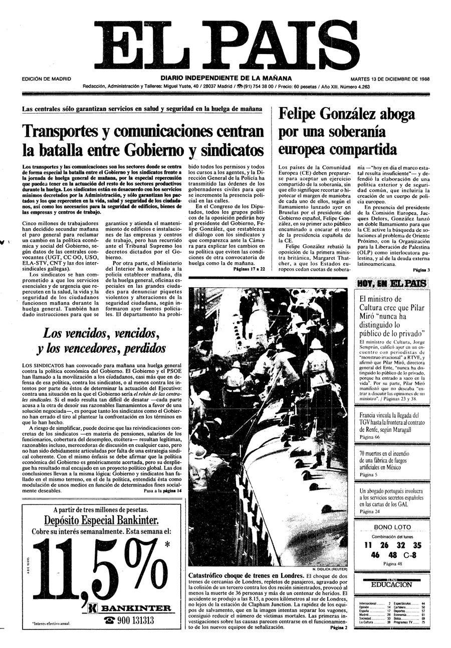 13 de Diciembre de 1988