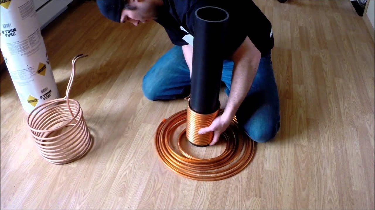 how to make diy wort chiller