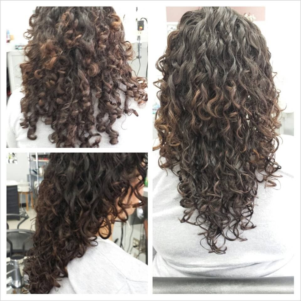 Hair color tips for vibrant summer curls blondes google search my deva cut before and after i want to do this for mia pmusecretfo Choice Image