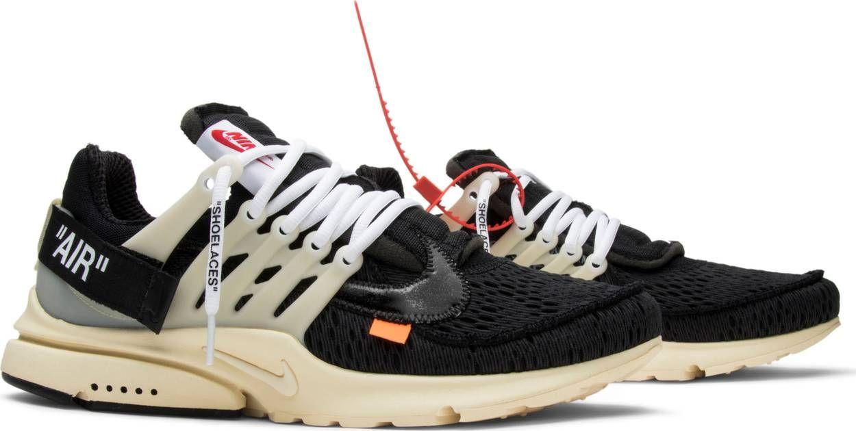 e762e0f910f OFF-WHITE x Air Presto  Black  - Nike - AA3830 001