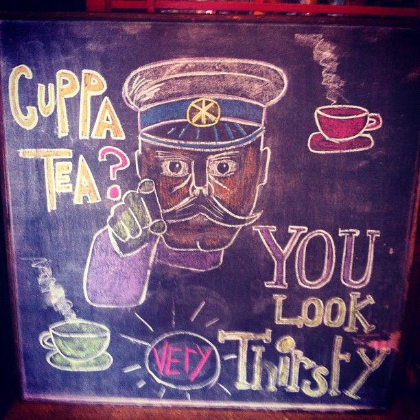Tea & Sympathy Cuppa Tea Thirsty #cuppatea