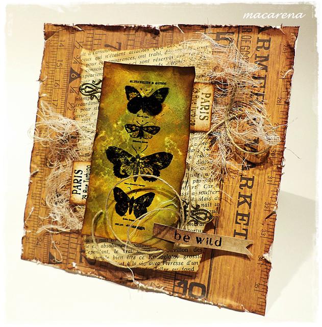 macarena-creativa: Vintage Butterflies