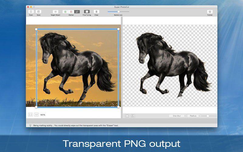Super PhotoCut App for Mac plugins, Remove
