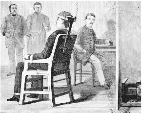 An Illustration Of Execution By Electricity This Illustration Was Done In 1888 Two Years Before William Kemmler Was To B Electric Chair Creepy War Of Currents