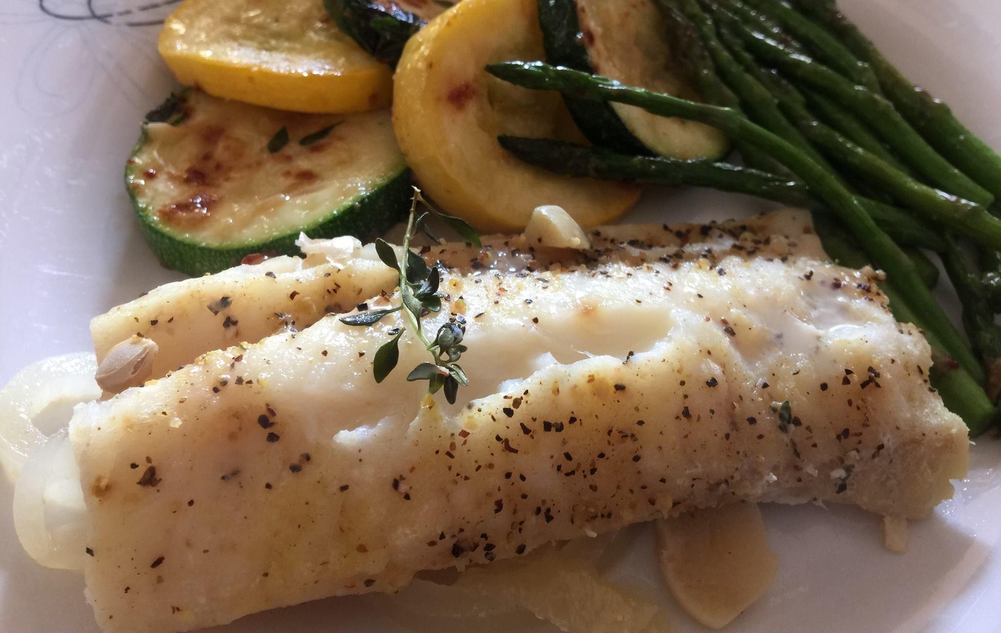 Lemon Thyme Fish Packet Recipe Dinner Recipes