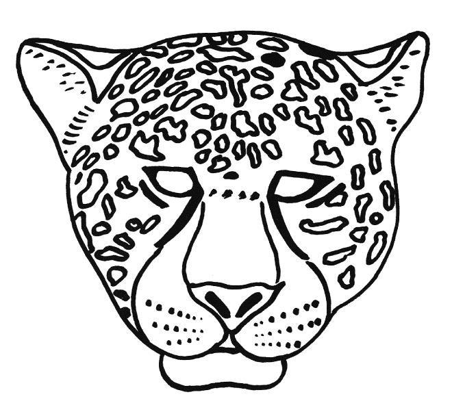 Coloriage 37 Dessin Masque Coloriage Masque Animaux Du Zoo