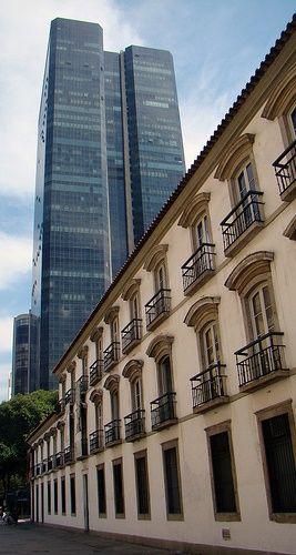 Paço Imperial - Residência da família real portuguesa. Praça 15 de Novembro - Centro da cidade do Rio de Janeiro