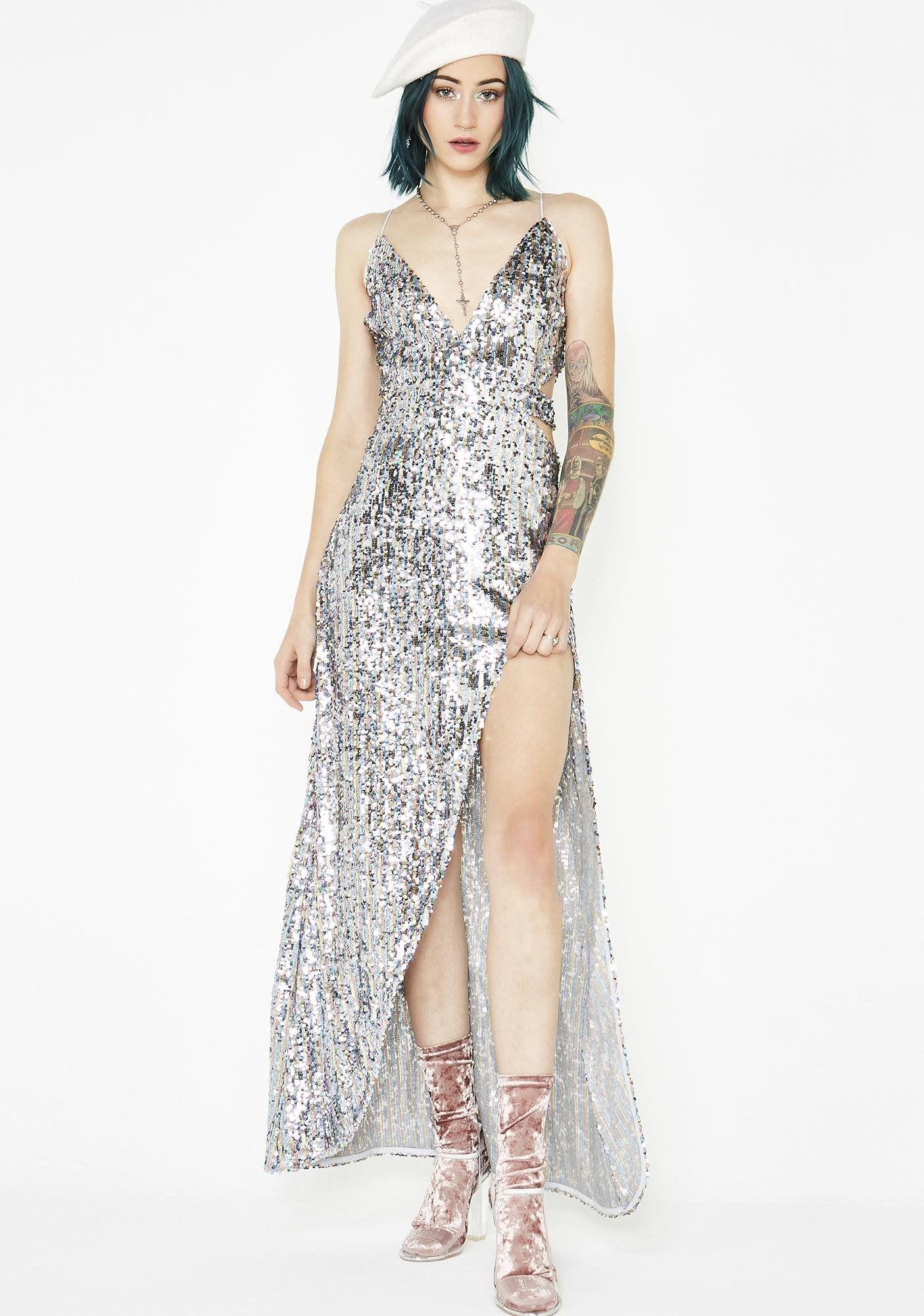 a0432dfe86 Showtime Maxi Dress | Kris ivy | Dresses, Fishnet dress, Fashion
