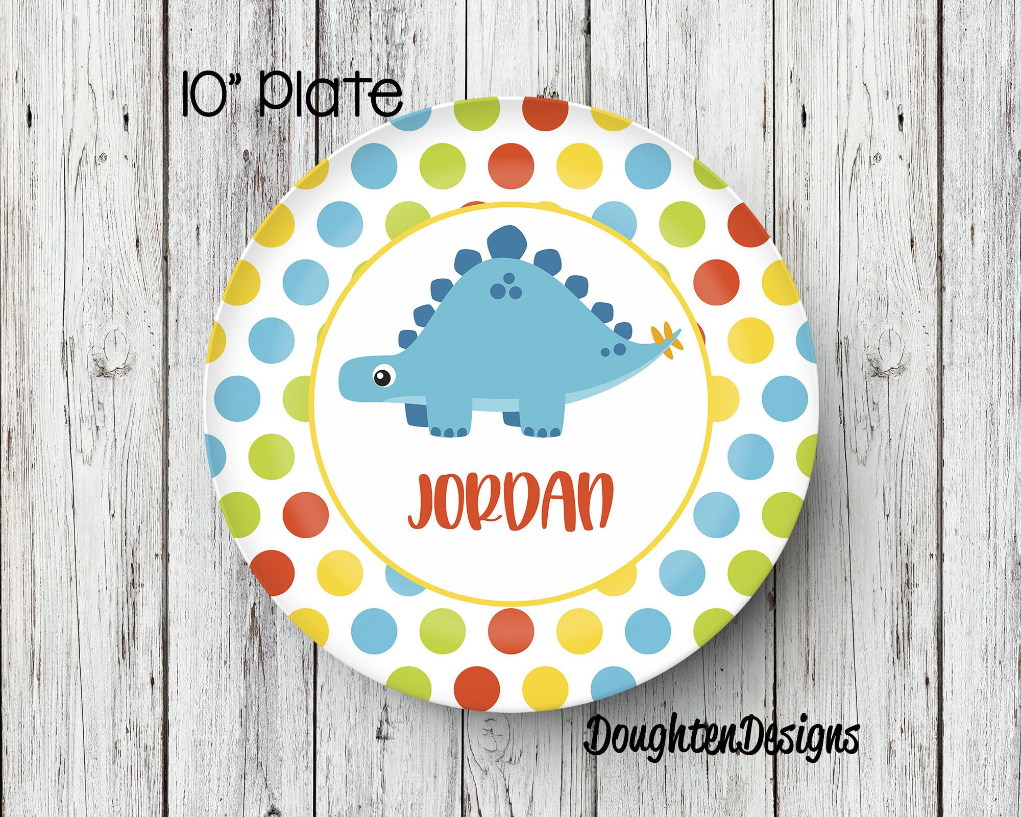 Dinosaur Plate Personalized Plate Personalized Melamine Plate Kids Dinner Plate Toddler dinnerware  sc 1 st  Pinterest & Dinosaur Plate Personalized Plate Personalized Melamine Plate ...