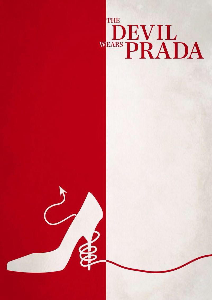 The Devil Wears Prada. movie poster Created by Yasuha Ohno.