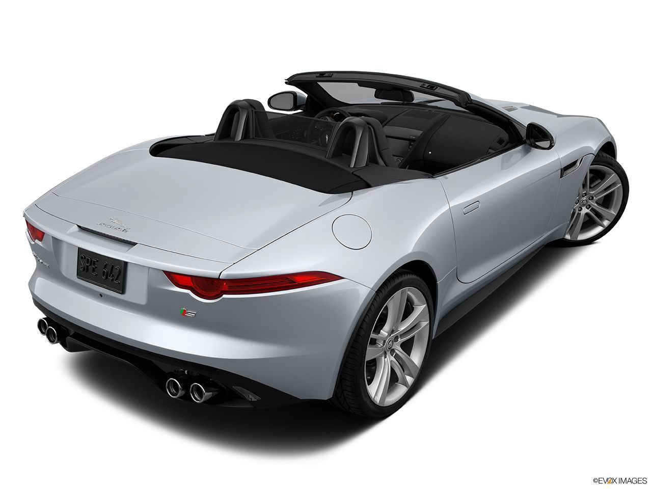 2014 Jaguar F-TYPE Convertible V8 S - Front angle view
