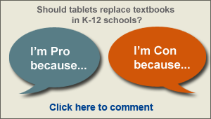 should tablets replace textbooks essay