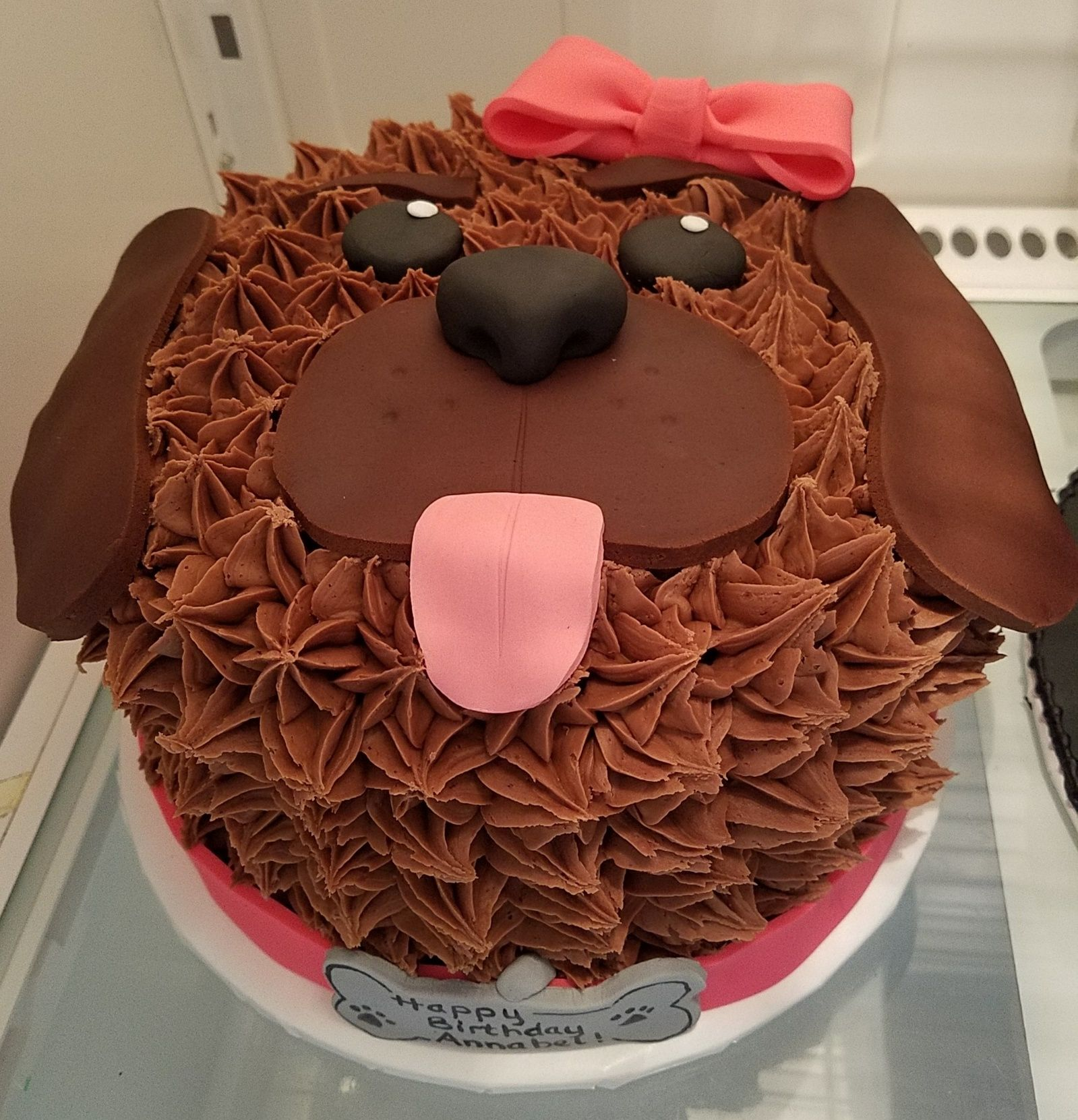 Sensational Puppy Dog Cake Adrienne Co Bakery With Images Puppy Funny Birthday Cards Online Inifodamsfinfo