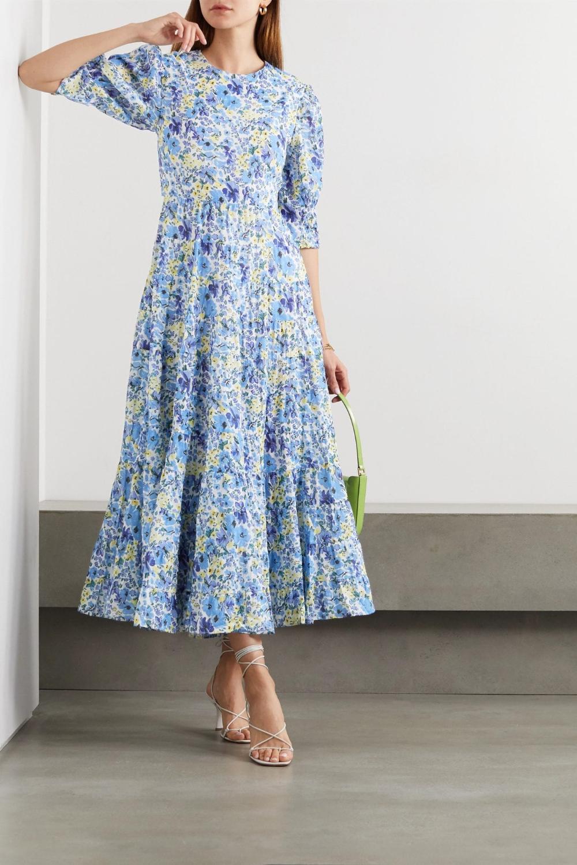 Rixo Agyness Cutout Tiered Floral Print Fil Coupe Cotton Maxi Dress We Select Dresses Maxi Dress Cotton Cotton Maxi Best Summer Dresses [ 1500 x 1000 Pixel ]