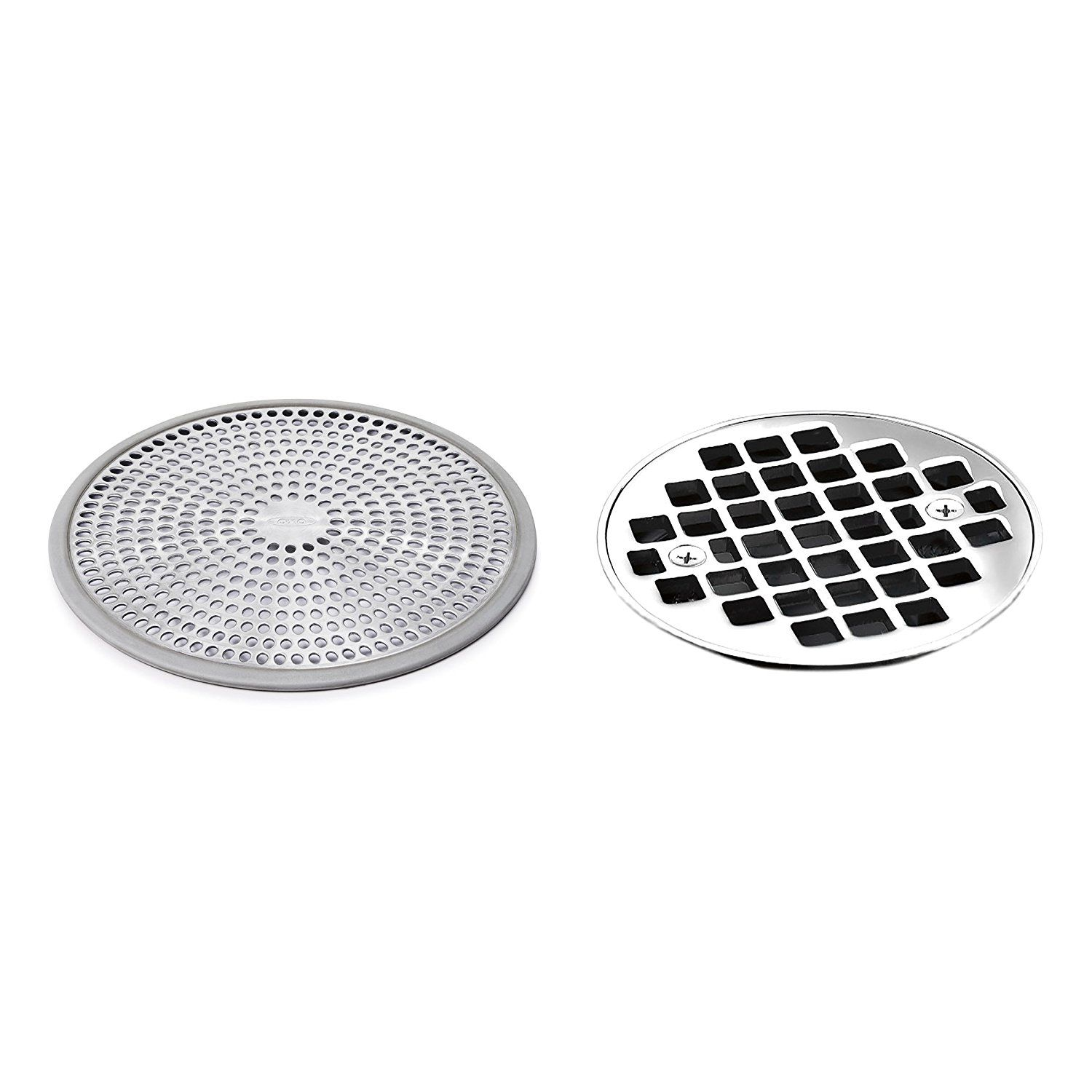 Amazon Com Oxo Good Grips Easy Clean Shower Stall Drain Protector
