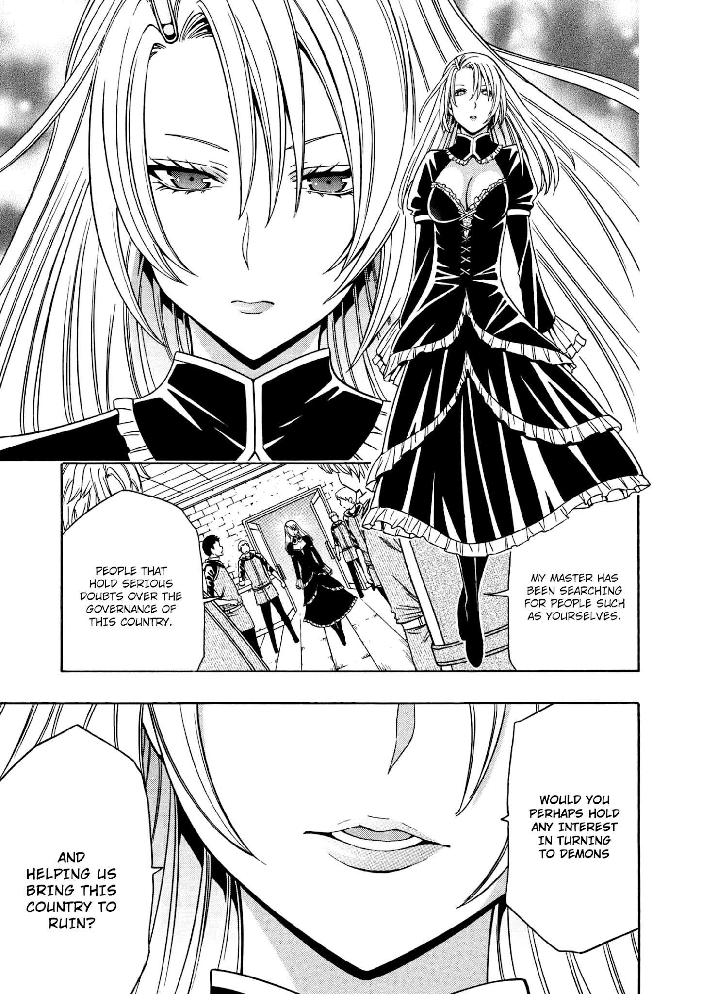 Baca manga kenja no mago