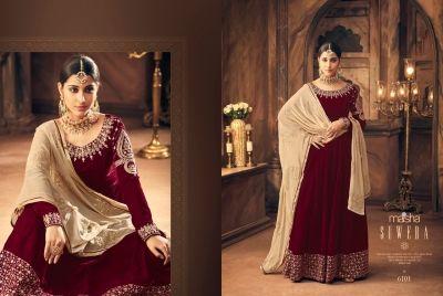 b58a15f913 Maisha-Launched-Qadira-6101-6105-Series-Designer-Velvet-Salwar-Kameez -Wholesale-8