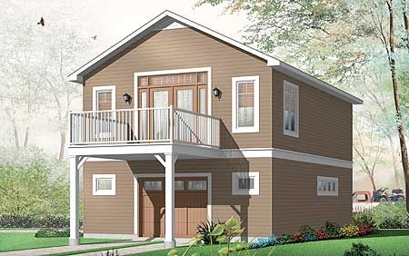 Plan 21856dr Perfect Carriage House Or 2nd Home