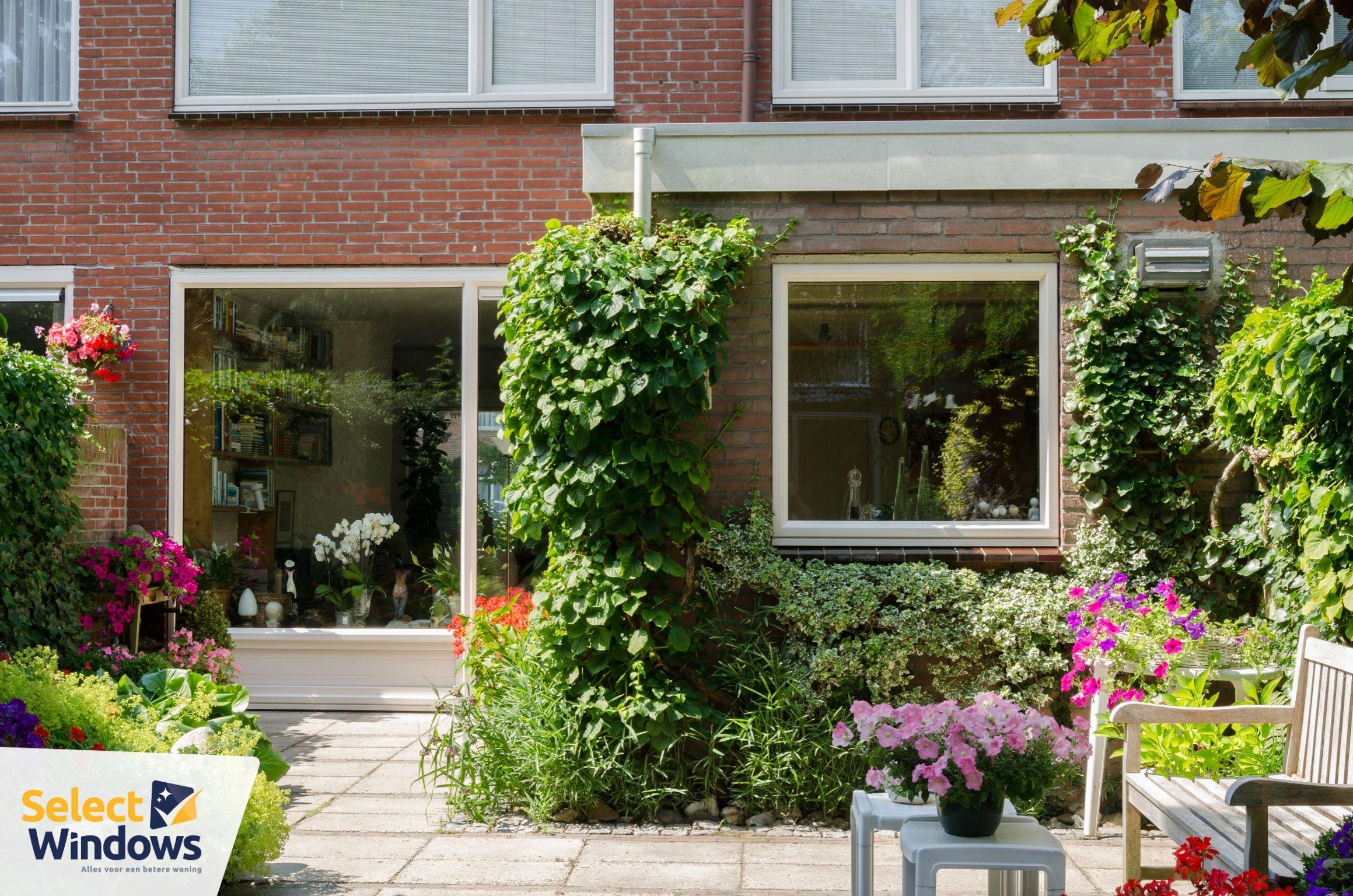 Genieten van huis en tuin met onderhoudsarme kozijnen in