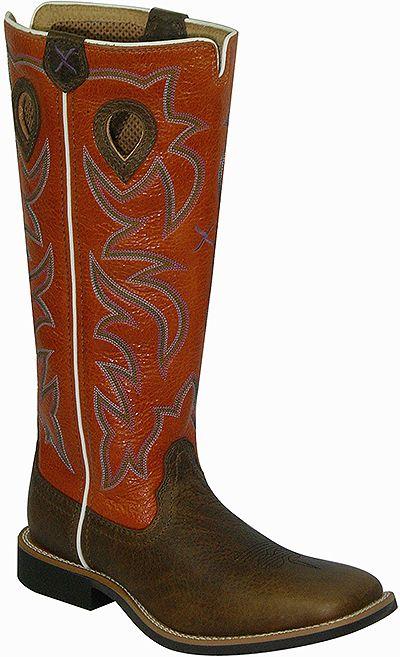 366b1e88452 Twisted X Boots YBK0003 - Twisted X Youth Buckaroo Western Boot ...