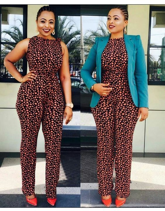 Trendy Ankara JumpSuit Styles at Diyanu