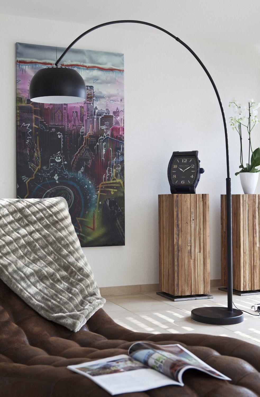 charming einfache dekoration und mobel er jahre bogenlampe #2: Pinterest