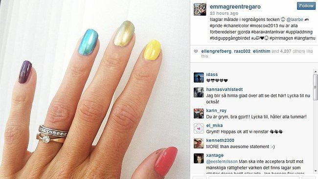 emma green nails