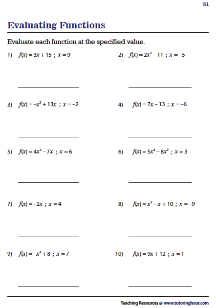 Pin On Algebra Worksheets