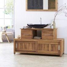 #meuble #salledebain #teck #neela #tikamoon