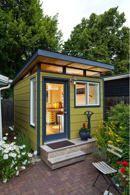6 Stunning She Shed Office Inspiration Ideas Joyful Derivatives Backyard Cottage Backyard Storage Sheds Shed Design