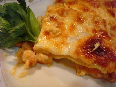 Smoky Mountain Café: Crawfish and Shrimp Lasagna