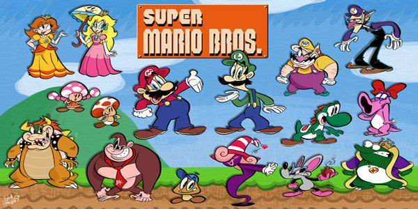 47 disegni da colorare di super mario bros disegni da for Disegni da colorare super mario bros
