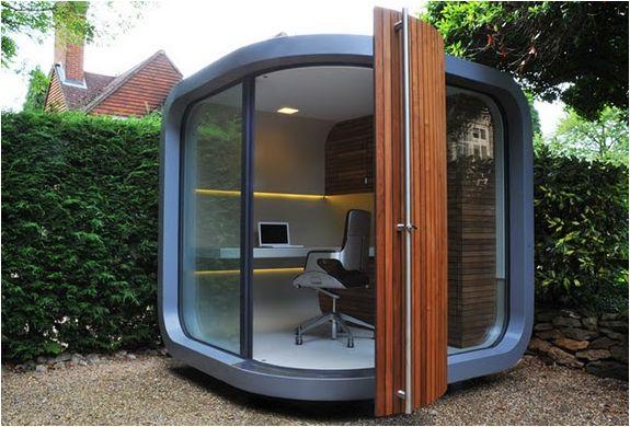 office garden pod. Delighful Garden Office Pod For Outdoor Working In Garden