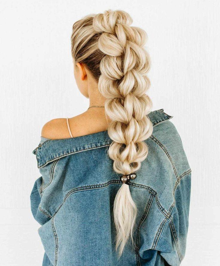 Schöne geflochtene Frisuren sind für fast jede Haarlänge 2019 erhältlich #hairlengths