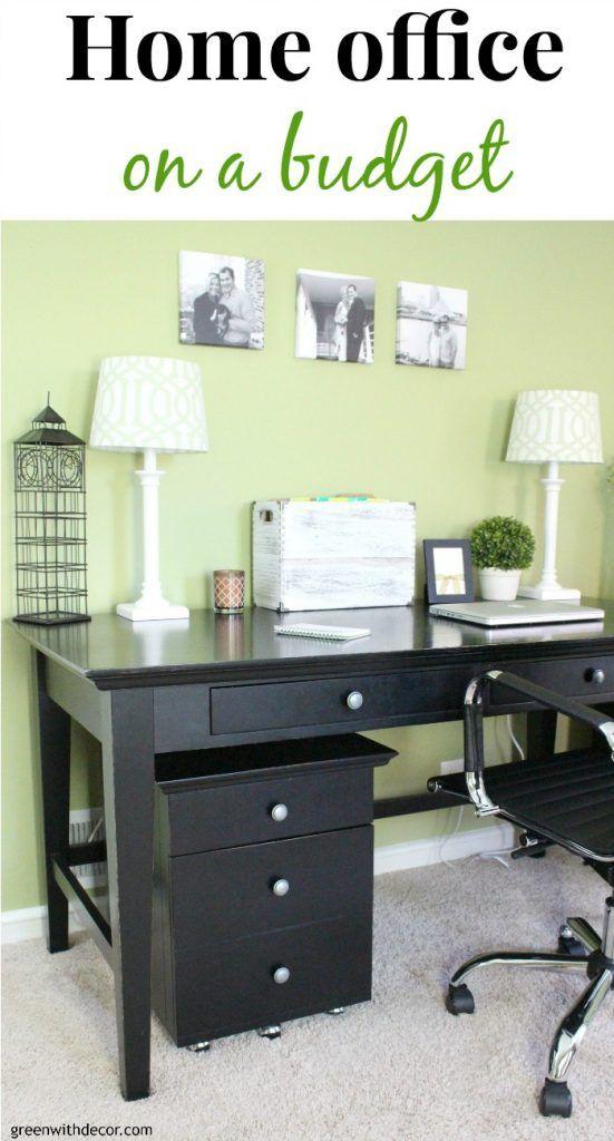 the home office makeover reveal | bastelarbeiten, zuhause und liebe, Innenarchitektur ideen