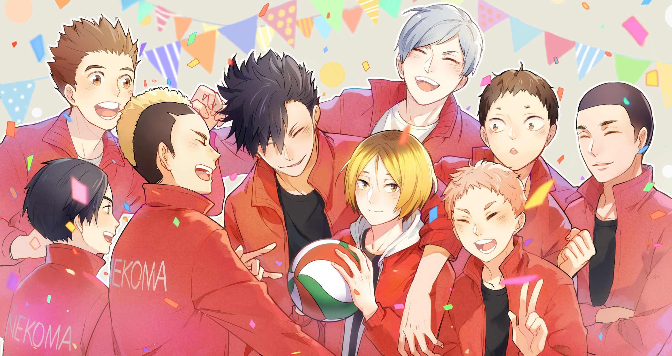 Nekoma High Wallpapers In 2020 Haikyuu Anime Anime Haikyuu Nekoma