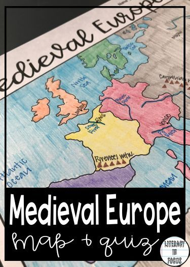 Medieval Europe Map Activity.Medieval Europe Map Lesson And Assessment Digital And Pdf Middle