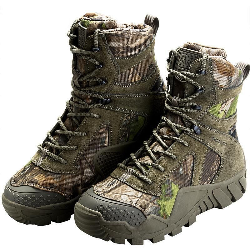 Precise Manli Brand Mens Military Leather Boots Tactical Big Size Army Bot Male Shoes Tactical Desert Combat Boats Outdoor Hiking Shoes Hiking Shoes