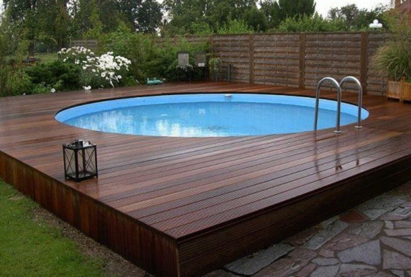 21 Awesome Above Ground Pool Ideas And Decor For Your Inspirations Garden Swimming Pool Above Ground Pool Landscaping Best Above Ground Pool