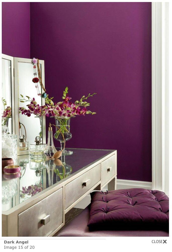 Dark Angel New Bedroom Colour Johnstone Paint