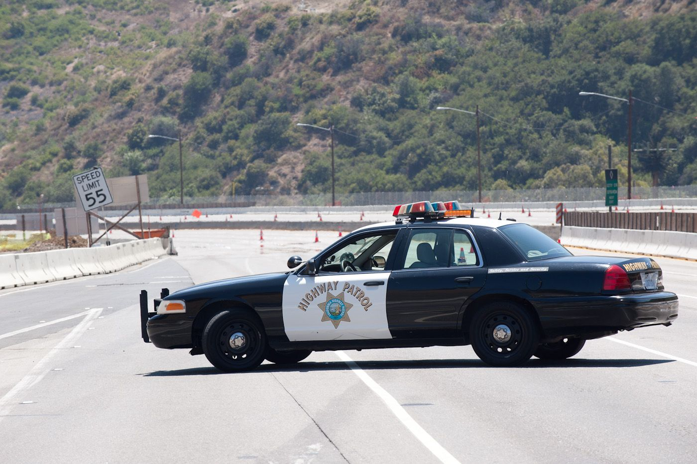 California Highway Patrol Car Ford Crown Vic Police Interceptor