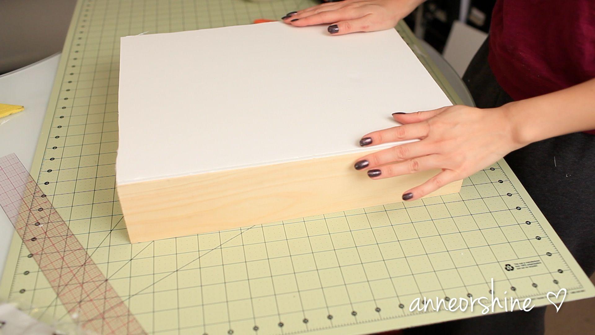 Wedding dress preservation box  DIY Showcase Shadowbox Jewelry Shelf and Display  Ann Le Style