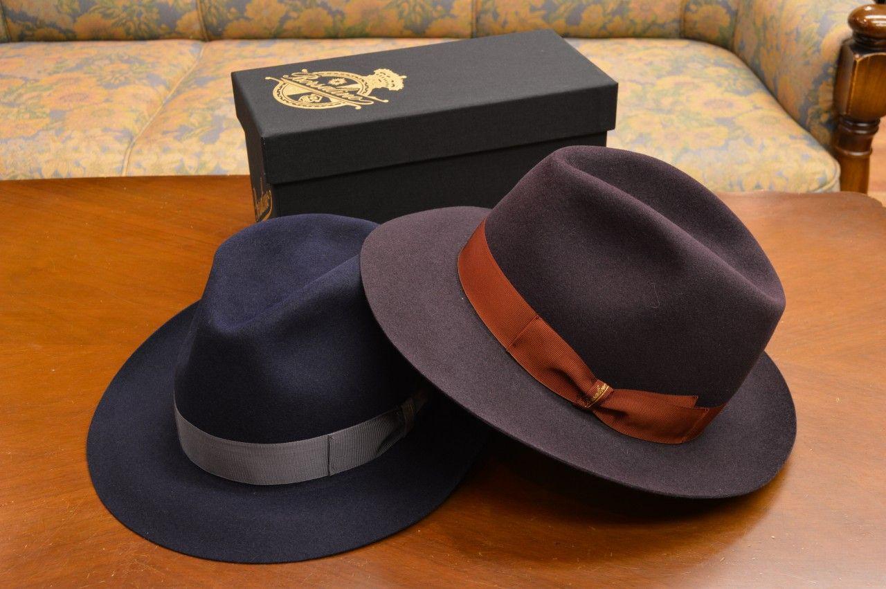 Borsalino ボルサリーノ 「50 grammi super leggero チンクァンタ グランミ スーペル レジェーロ」Qualita Superiore Fur Felt (専用化粧箱付属) aw-br096 114665:トミヤ帽子店